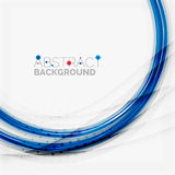 Red and blue color swirl concept Stock Photos