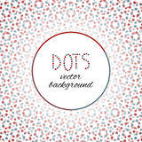 Red and blue dots - background Royalty Free Stock Photo