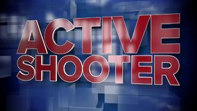 Dynamic Active Shooter Title Page Background Plate