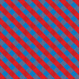 Red and blue gingham Royalty Free Stock Photos