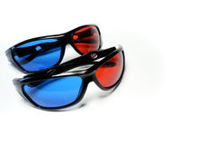 Red-blue glasses Royalty Free Stock Images