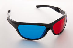 Red and blue glasses Stock Photography