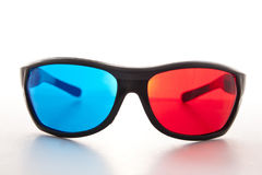 Red and blue glasses Stock Photo