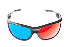 Red and blue glasses Royalty Free Stock Photography