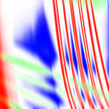 Red blue and green motion traces Royalty Free Stock Images