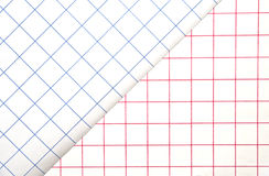 Red and Blue Grids/Background Stock Images