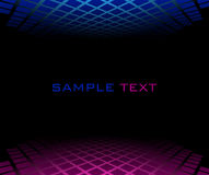 Red blue halftone background Stock Photography