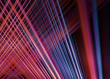 Red and blue light trails background Royalty Free Stock Photo