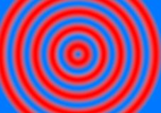 Red Blue Lines Hypnotizing Background Stripes. Computer Abstract Background With spotlights of color that can be used for books, and product placements for web Stock Photography
