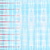 Red and blue lines on a white background geometric background vector illustration Royalty Free Stock Images