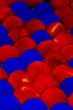 Red & Blue Marbles Royalty Free Stock Photo