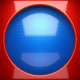 Red and blue metal background. 3D rendered Royalty Free Stock Photos
