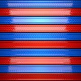 Red and blue metal background Royalty Free Stock Photography