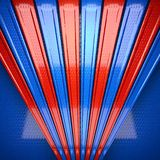Red and blue metal background Royalty Free Stock Images