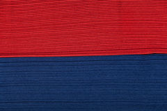 Red and blue napkin paper Stock Photos