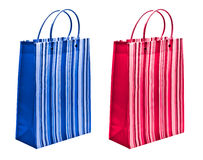 Red and blue packets Stock Image