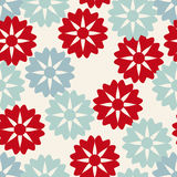 Red and blue pattern royalty free illustration