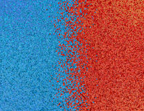 Red and blue pixel abstract background. Royalty Free Stock Photo