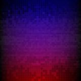 Red, blue and purple pixelated digital background Royalty Free Stock Photography
