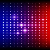 Red, blue and purple shining disco equalizer Royalty Free Stock Images