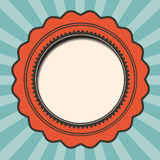Red and Blue Retro Background Royalty Free Stock Photography