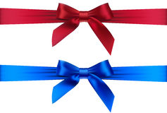 Ribbons with bows Stock Photos