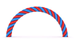 Red-blue spiral Royalty Free Stock Photography