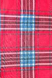 Red and blue square pattern tartan texture background. Seamless red and blue square pattern tartan texture background Royalty Free Stock Photo