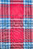 Red and blue square pattern tartan texture background. Seamless red and blue square pattern tartan texture background Stock Image