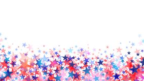 Red and blue stars isolated on white background vector vector illustration