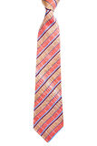 Red and blue striped tie Stock Photography
