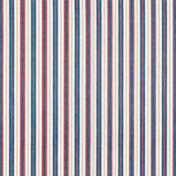 Red Blue Tan Striped Fabric Royalty Free Stock Images