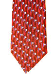 Red and Blue Tie Stock Photo