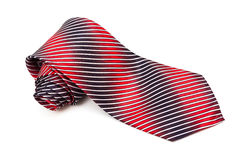 Red and blue tie Stock Photos