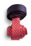 Red and blue ties Stock Photos