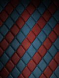 Red & blue tile. Fabric royalty free stock photography