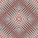 Red blue white lines beautiful geometric background  Stock Photography