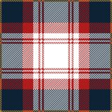 Blue And Red Tartan Plaid Seamless Scottish Pattern vector illustration