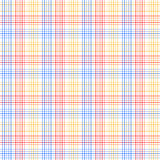 Red blue and yellow checkered colorful seamless pattern, vector royalty free illustration