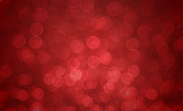 Red blur bokeh backround Royalty Free Stock Images