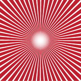 Red blur burst background. Vector illustration. Royalty Free Stock Photography