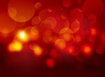 Red blurred circle background. Modern red blurred circle background Royalty Free Stock Photos