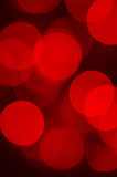 Red blurred lights Royalty Free Stock Image