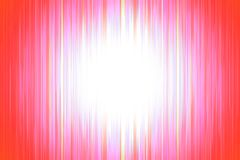 Red blurred stripes with a white spotlight Royalty Free Stock Photo