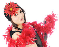 Red Boa Flapper Stock Images