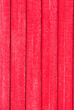 Red Board Fence Stock Photography