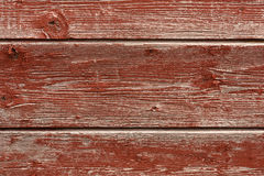 Red Boards Background Stock Image