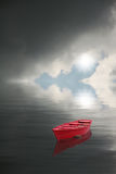 Red boat Stock Photography