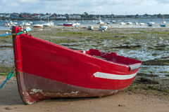 Red boat Royalty Free Stock Photo