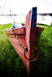 Red boat Stock Image